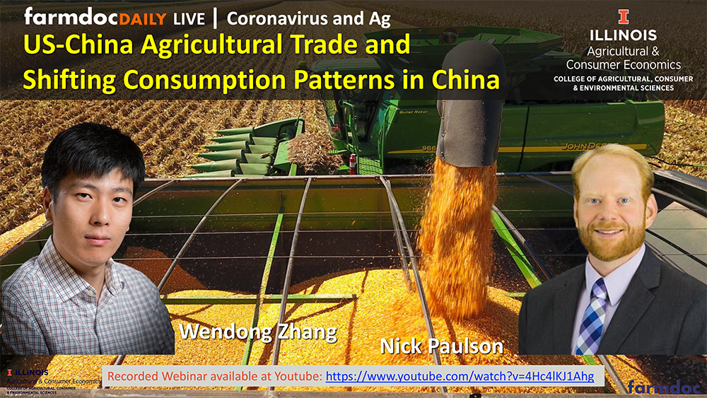 cover slide for US-China Agricultural Trade and Shifting Consumption Patterns in China